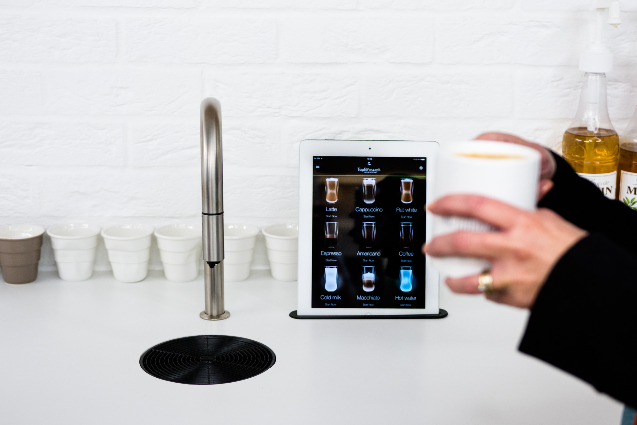 TopBrewer self service concept