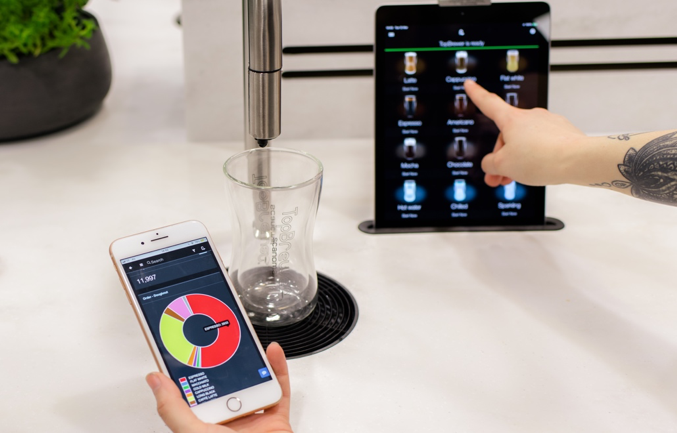 TopBrewer CoffeeCloud | Realtime datamanagement systeem
